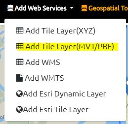View Offline Vector Tiles - GeoData Explorer App